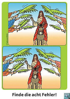 Rätsel zu Palmsonntag (Quelle: Image) - Bild gross anzeigen