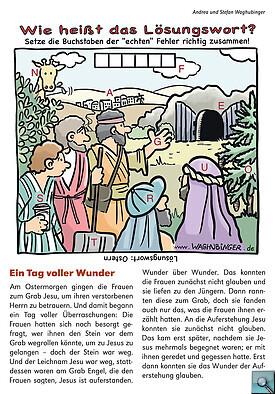 Rätsel zu Ostern (Quelle: Image) - Bild gross anzeigen